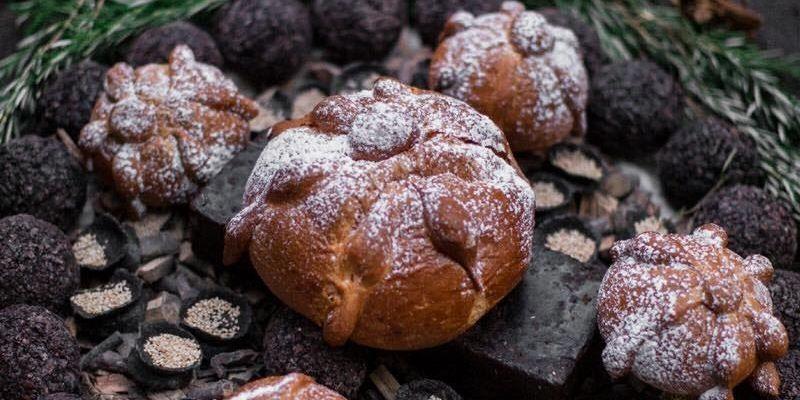 Receta para Pan de muerto de Quiché - Foto Panadería San Martín