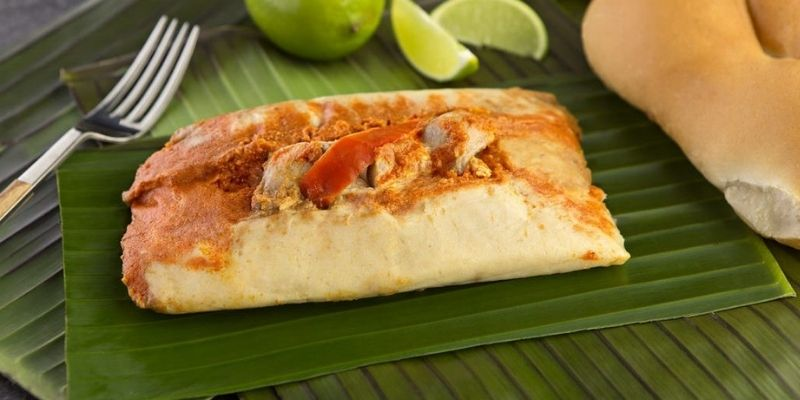 Receta para los tradicionales tamales de gallina - Foto Baqú