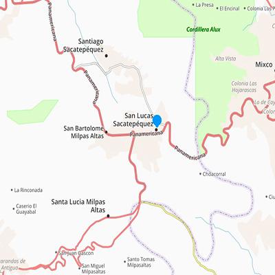 San Lucas Sacatepéquez, sacatepéquez. Foto - Guatemala