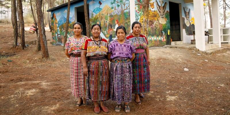 Trajes mayas regionales que existen en Guatemala
