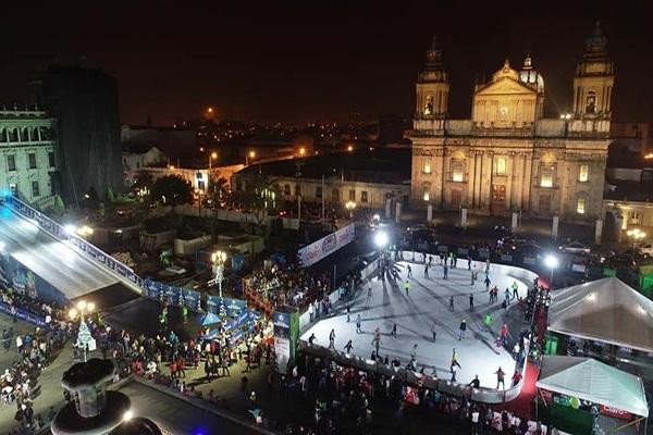 Antiguas pistas de patinaje de Guatemala - Foto Municipalidad de Guatemala