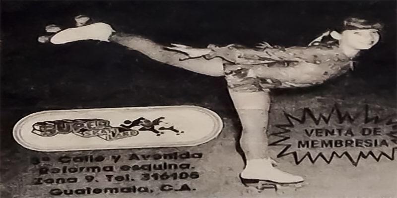 Las antiguas pistas de patinaje de Guatemala