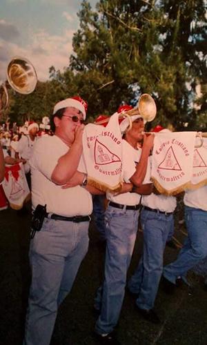 Antiguo desfile paiz y sus proveedores - Foto Oscar Barú
