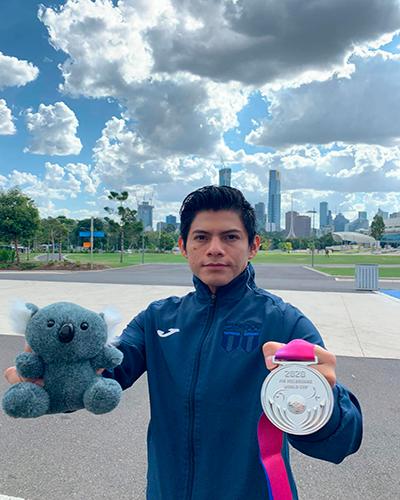 Biografía de Jorge Vega, Australia - Foto Comité Olímpico de Guatemala