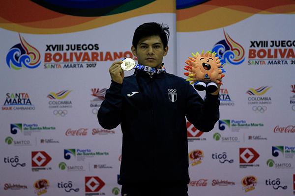 Biografía de Jorge Vega, Bolivia - Foto Comité Olímpico de Guatemala