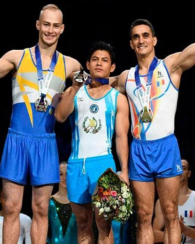 Biografía de Jorge Vega, primer lugar - Foto Comité Olímpico de Guatemala