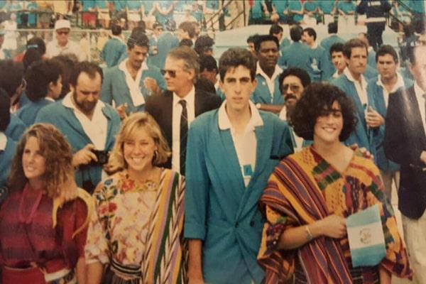 Biografía de Mario Campollo, chef guatemalteco, Juegos Panamericanos Indianapolos 1987 - Foto Chef Mario Campollo Sarti