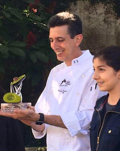 Biografía de Mario Campollo, chef guatemalteco, premio - Foto Chef Mario Campollo Sarti