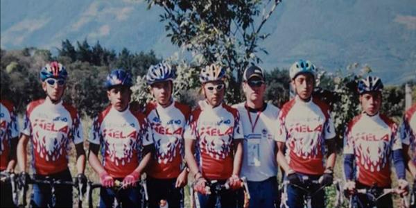 Biografía del ciclista Alfredo Ajpacaja - Foto Alfredo Ajpacaja