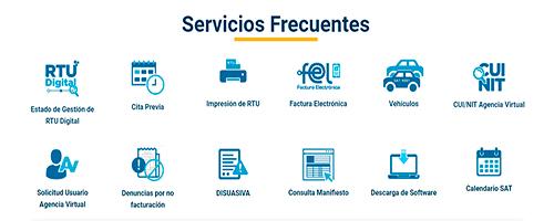 Cómo hacer una cita en línea en la SAT Guatemala - Foto SAT Portal