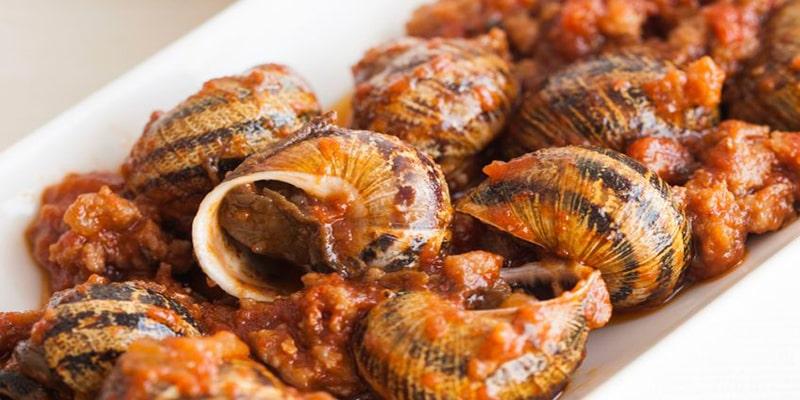 Caracoles al tomillo de Zacapa - Foto Caracoles de Gredos