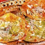 Receta de chalupas de pollo guatemaltecas