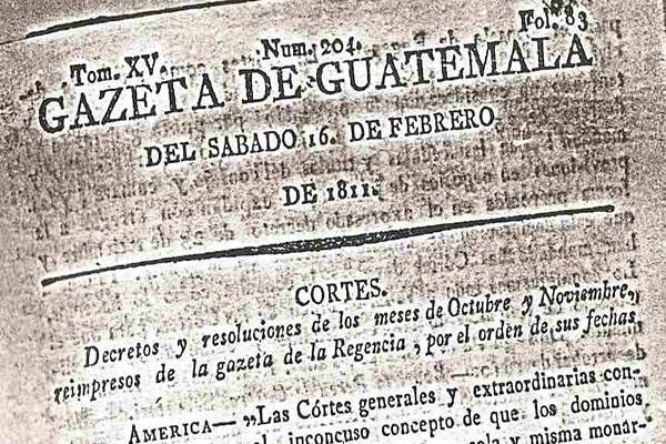 Día nacional del periodista en Guatemala - Foto Pueblo Conoce tu Historia
