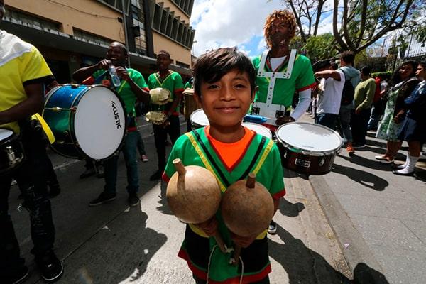 El canto y la música garífuna - Foto Agencia Guatemalteca de Noticias
