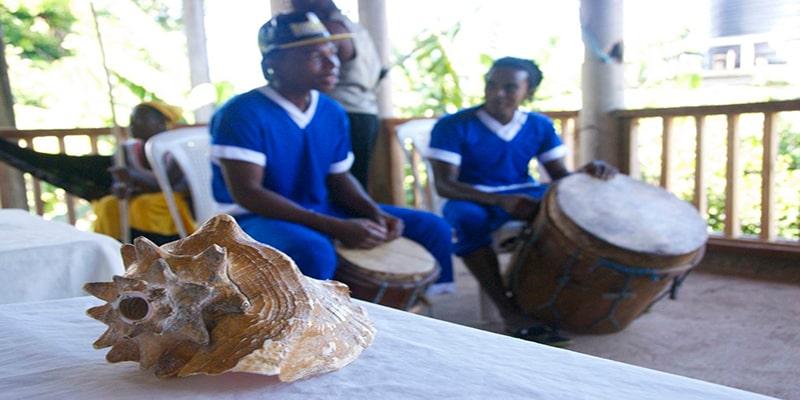 El canto y la música garífuna en Guatemala