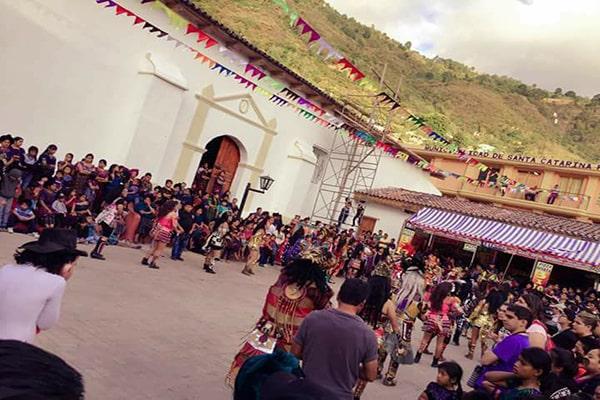 Fiesta Patronal en honor a Catarina de Alejandría, 2017 - Foto Santa Catarina Palopó