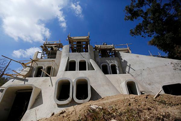 Historia de la Escuela Nacional de Marimba de Guatemala, construcción - Foto Ministerio de Cultura y Deporte