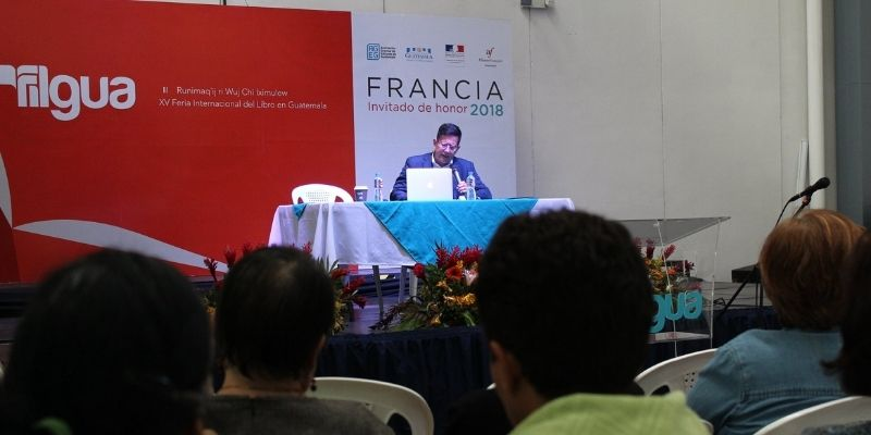 Historia de la Feria Internacional del Libro en Guatemala, presentación de libro - Foto FILGUA 2019