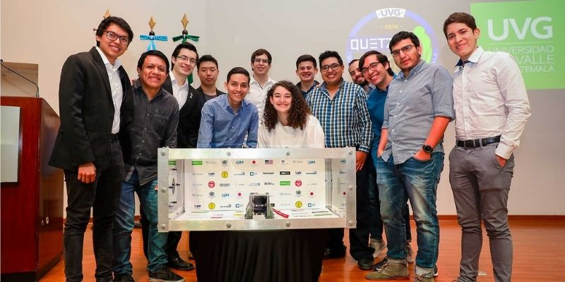 Historia del Quetzal 1, primer satélite guatemalteco - Foto Universidad del Valle de Guatemala
