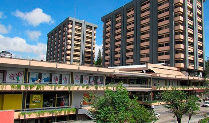 Historia del centro comercial zona 4 - Foto CCBRG