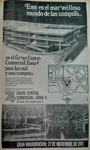 Historia del centro comercial zona 4 - Foto Diario Impacto