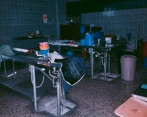 Leyenda del dame tu nalga y te doy tu guacal - Foto Morgue del Hospital San Juan de Dios