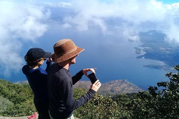 Parque ecológico Volcán San Pedro, turistas - Foto Parque Ecológico Volcán San Pedro