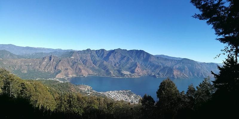 Parque ecológico Volcán San Pedro, vista del lago - Foto Parque Ecológico Volcán San Pedro