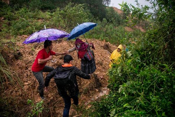 Qué hacer en caso de huracán en Guatemala - Foto Hola News