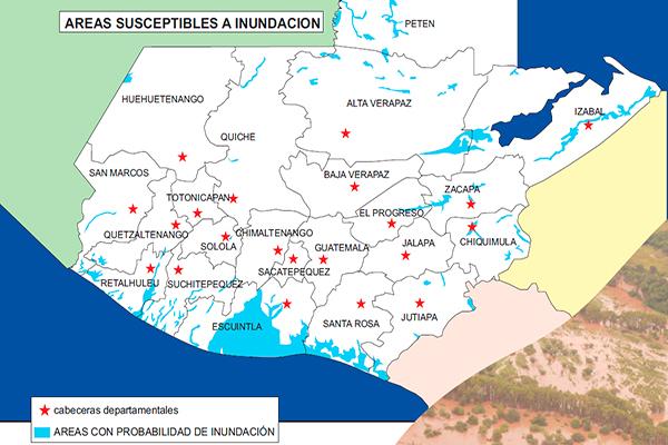 Qué hacer en caso de inundaciones en Guatemala - Foto CONRED