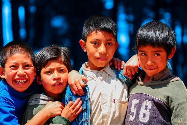 Significado de la palabra Muchá en Guatemala - Foto Claudio Versiani