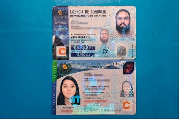 Tipos de licencia de conducir en Guatemala - Foto Guatemala . com