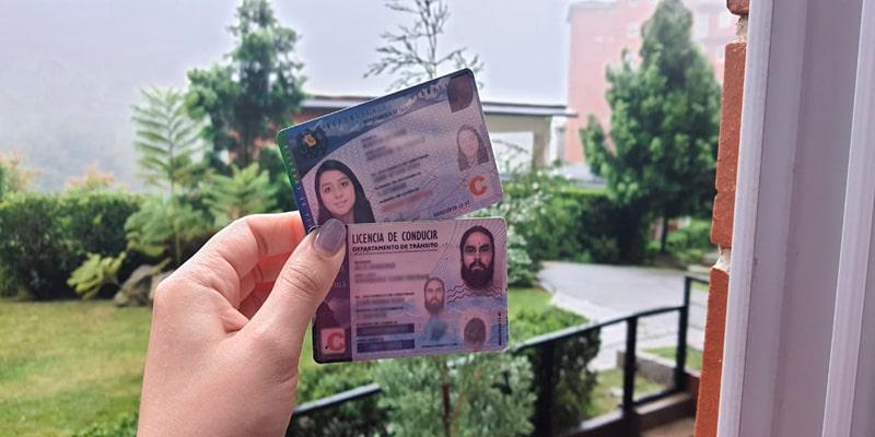Tipos de licencia de conducir en Guatemala, licencias - Foto Guatemala . com