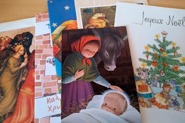 Antiguas tarjetas de navidad de Guatemala - Foto Todocolección