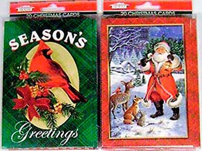 Antiguas tarjetas de navidad de Guatemala, santa - Foto Amazon