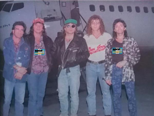 Concierto único de Bon Jovi en Guatemala, 1993 - Foto Rock Chapín