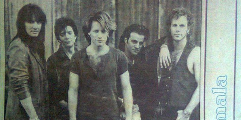 Concierto único de Bon Jovi en Guatemala, 1993, periodico - Foto Rock Chapín