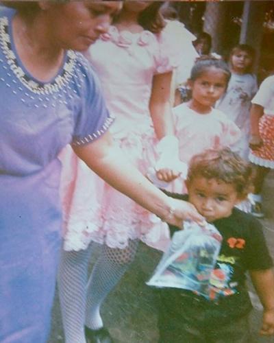 El Agua de bolsita de Guatemala - Foto IG @irvinenriquez_7
