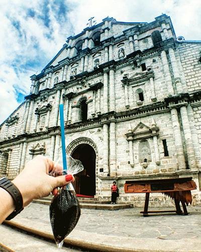El Agua de bolsita de Guatemala - Foto IG @themomentbooth