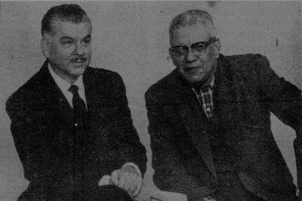 Hemeroteca Nacional Lic. Clemente Marroquín Rojas, binomio presidencial de 1966 - Foto Yadira Ishlaj