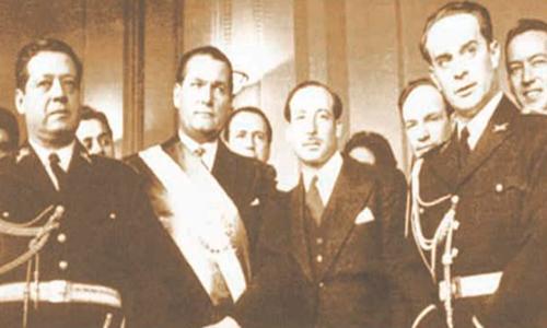 Historia de la Autonomía Universitaria de la USAC, Presidentes de 1945 - Foto Periódico de la USAC