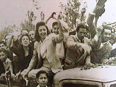 Historia de la Autonomía Universitaria de la USAC, Protesta del Magisterio - Foto Grupos de Mujeres Ixchel