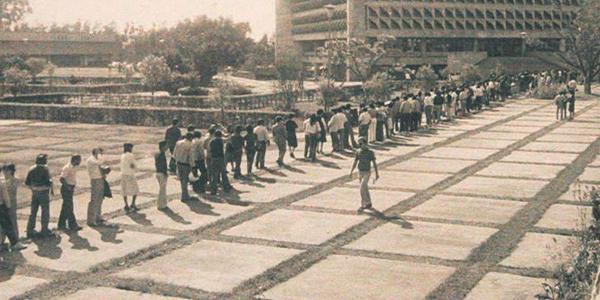 Historia de la Autonomía Universitaria de la USAC, crecimiento estudiantil - Foto Periódico de la USAC