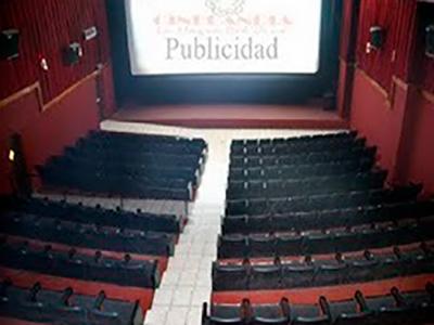 Historia de los antiguos cines de Centro Comercial los Próceres, interior de cines - Andrés Mazariegos