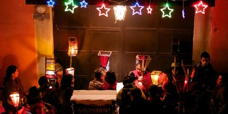 Instrumentos de las posadas navideñas de Guatemala - Foto Cucuruchos de Guatemala