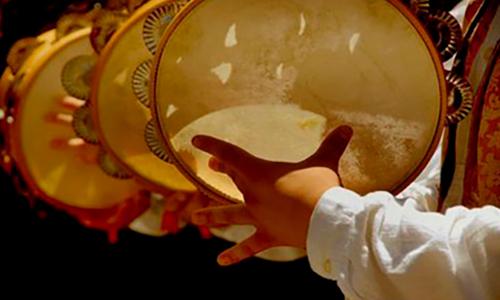 Instrumentos de las posadas navideñas de Guatemala - Foto Dejamos Huella