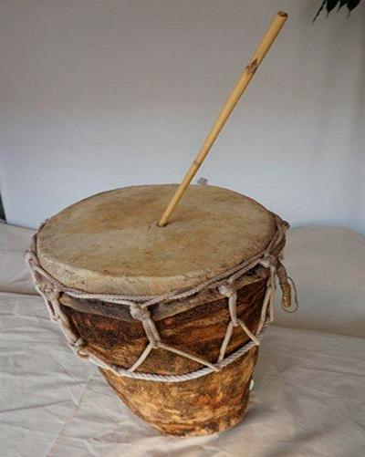 Instrumentos de las posadas navideñas de Guatemala - Foto Museo virtual de Ecología Humana
