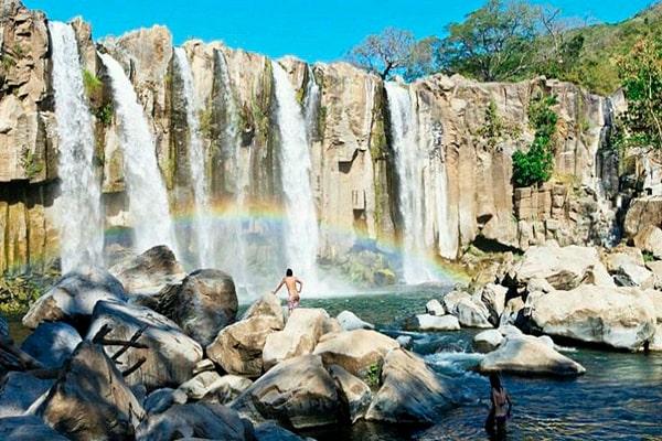 Las cascadas de guatemala, Cascada de los amates - Foto IG @amor_a_guatemala