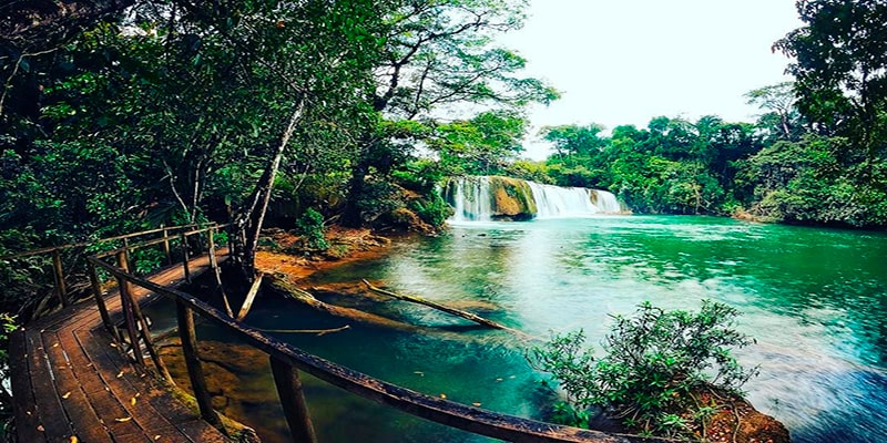 Las cascadas de guatemala, Cascada de los amates - Foto Pinterest