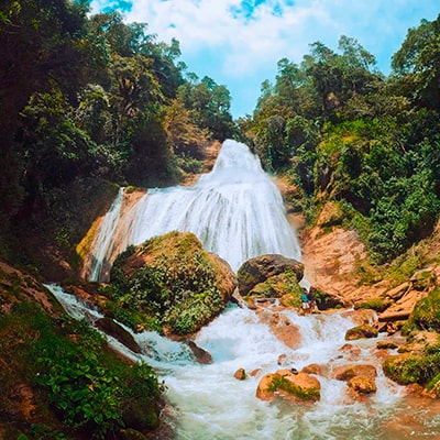 Las cascadas de guatemala, Catarata de Chichel - Foto IG @jsrolando